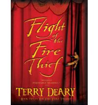 flight of the fire thief deary Book List: young adult books about Greek mythology