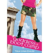 goodess boot camp tera lynn childs Book List: young adult books about Greek mythology