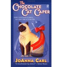 chocolate cat caper Book List: novels about chocolate