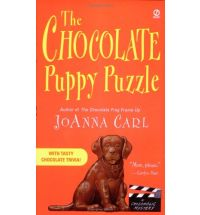 chocolate puppy puzzle Book List: novels about chocolate