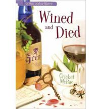wined and died cricket mcrae Book Review: Lye in Wait by Cricket McRae