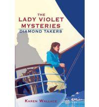 diamond takers karen wallace Book Review: Lady Violet Winters and The Man with Tiger Eyes by Karen Wallace