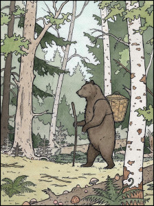 BearintheWoodsSmaller 224x300 Christmas Press heralds a return to traditional picture book publishing in Australia