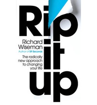 Rip it Up by RIchard Wiseman Review: The Luck Factor by Richard Wiseman